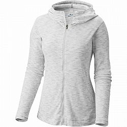 Columbia OUTERSPACED FULL ZIP HOODIE sivá XL - Dámska outdoorová mikina