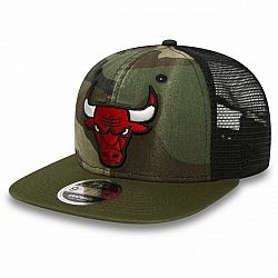 New Era 9FIFTY NBA TRUCKER CHICAGO BULLS červená S/M - Klubová šiltovka