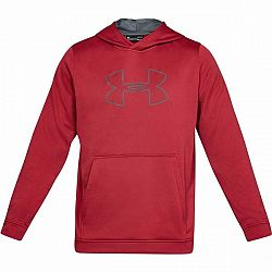 Under Armour PERFORMANCE FLEECE GRAPHIC HOODY červená XXL - Pánska mikina